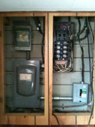 Electrical Panel Before Services