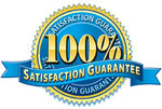 satisfaction guarateed for all services
