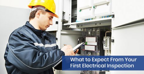 First electrical inspection expectations