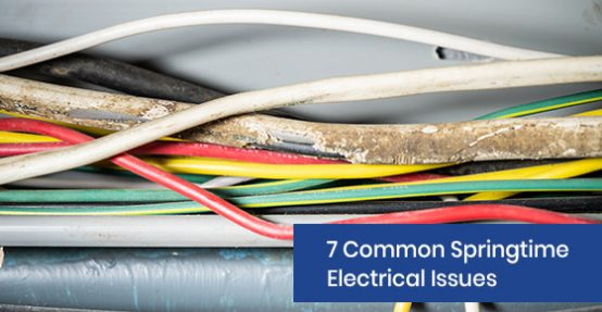 Common springtime electric issues
