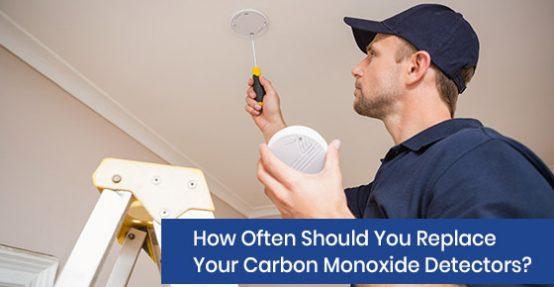 When to replace your carbon monoxide detectors?